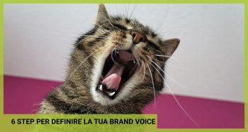 definire la brand voice
