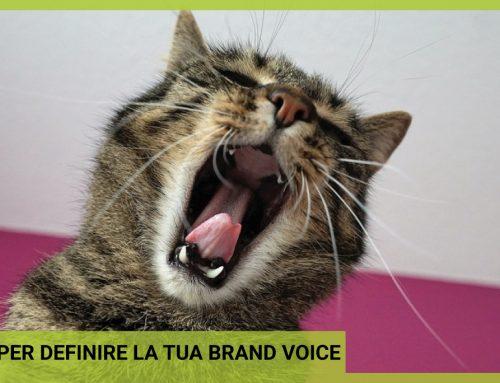 6 step per definire la tua brand voice