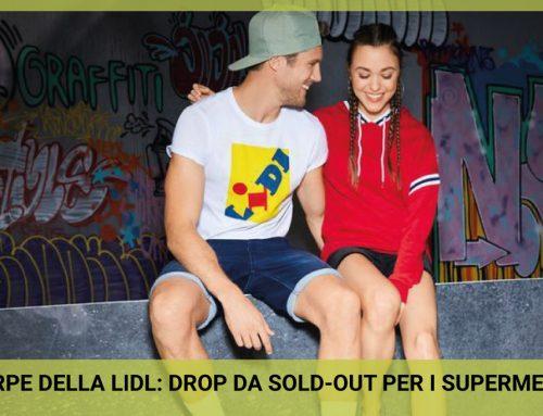 Le scarpe LIDL: drop da sold-out per i supermercati