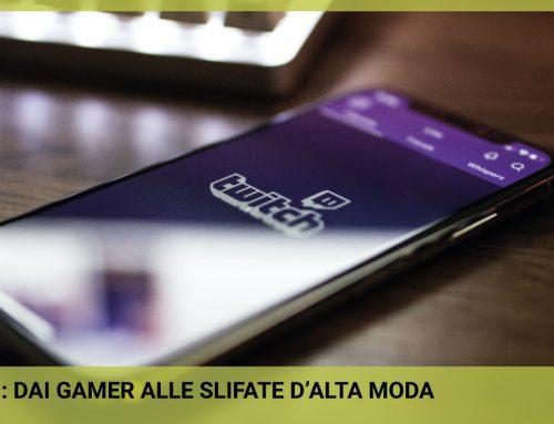 Twitch: dai gamer alle sfilate d'alta moda