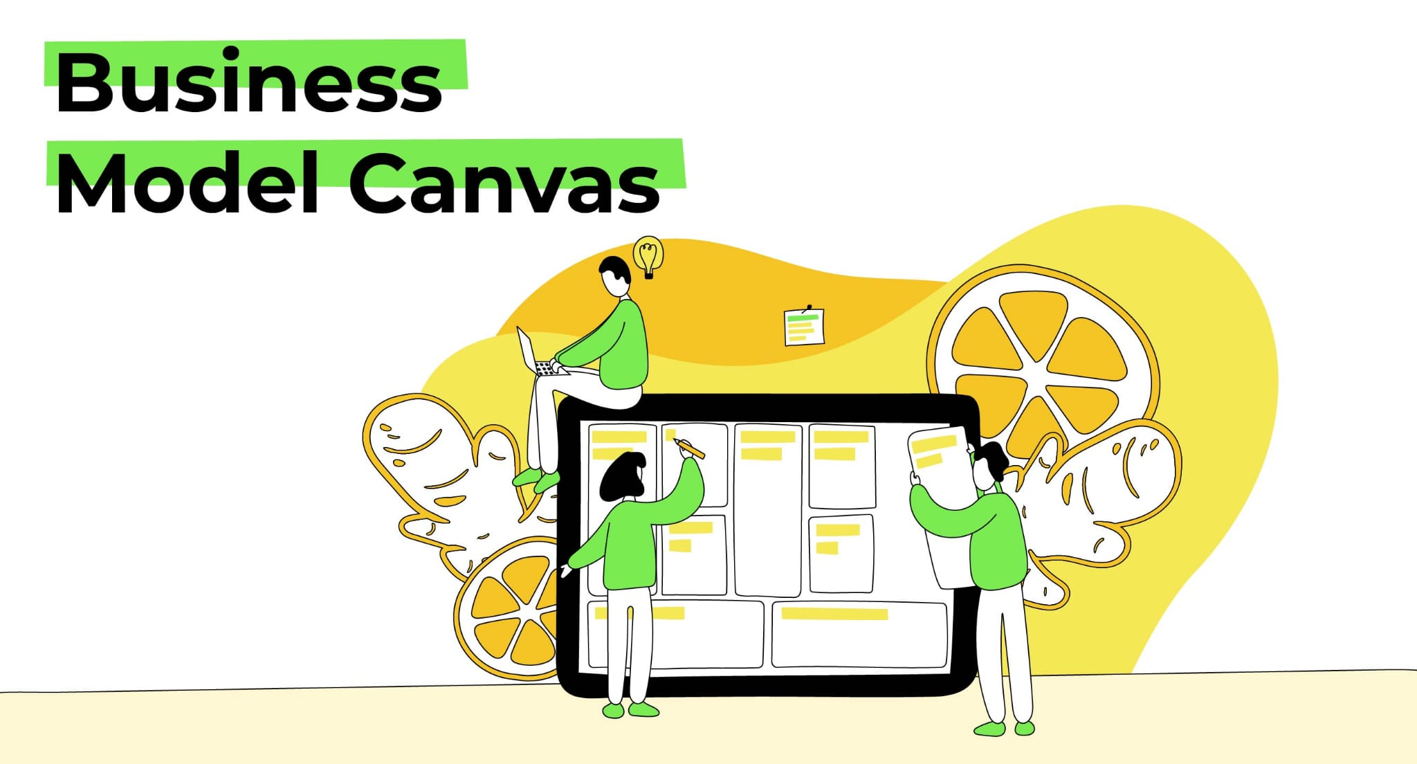 business model canvas gingernlemon